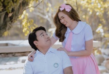 JERIC | SARAH Prenup by All Mads Up! Makeup by Mads