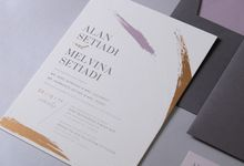 ALWAYS AND FOREVER by BloomingDays Invitation Studio