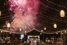 Soft Purple & Lavender Decoration Wedding by Bali Izatta Wedding Planner & Wedding Florist Decorator