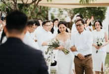 Wedding of Jason & Regina by Fairmont Sanur Beach Bali