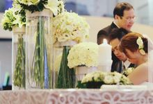 Church Wedding - Pentecost Methodist Church by The Olive 3 (S) Pte Ltd
