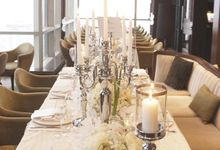 Bridal Shower- White Opulent by Blooming Elise Flowers