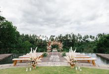 STELLA & ANKIT WEDDING by Kamandalu Ubud