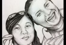 Couple by Garis Pena Art