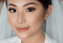 Bridal Makeup on Catherine by Alvina Tania