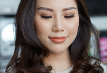 Angel Tanoe, Special event makeup by Alvina Tania