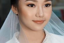 Bridal Makeup on Marlyn by Alvina Tania
