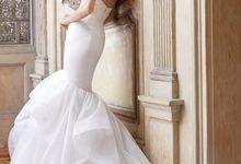 Alvina Valenta by Dina Alonzi Bridal