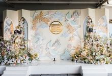 Yoan & Edwin Engagement Decoration by Valentine Wedding Decoration