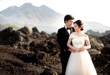 Prewedding of Indra & Metta by exatha photography