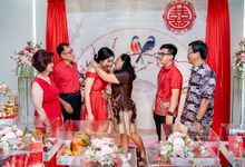Engagement of Yucai & Bella by exatha photography