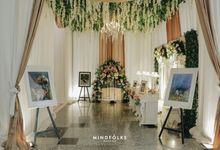 Dinda & Anggi Reception by  Menara Mandiri by IKK Wedding (ex. Plaza Bapindo)