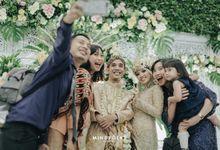 Dinda & Anggi Reception by Menara Mandiri (Ex. Plaza Bapindo) by IKK Wedding