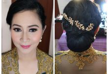 Make Up & Hair Do for Sister of the Bride by MarisaFe Bridal