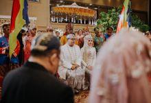 Amanda & Amal Wedding At Menara 165 by Medina Catering