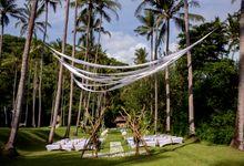 Wedding at the Beach Club by AMANKILA