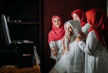 Wedding of Amel & Dea by Badenicca