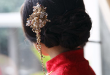 CHRIS & MICHELLE Sangjit Day by AMITIE Bridal Accessories