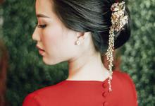 DENNIS & CHRISTINE SANGJIT DAY by AMITIE Bridal Accessories