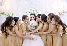 HEULWEN & IRA WEDDING by AMITIE Bridal Accessories