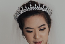 In support of Gisela Privee Bridal Collection. by AMITIE Bridal Accessories
