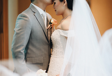 HENDRIC & DIAN WEDDING by AMITIE Bridal Accessories