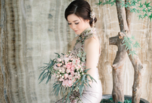 JESSICA & HANS SANGJIT DAY by AMITIE Bridal Accessories