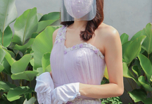 Lilac Gown by Amore Wedding Usher