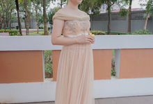 Nude Gown by Amore Wedding Usher