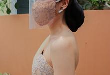Amore Wedding Usher Nude Gown by Amore Wedding Usher