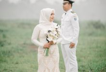 Prewedding Aga & Celvie by Amphoto