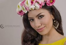Miss Philippines Earth 2016 Candidate: KC Reyes by Gale Dy Make Up Artistry