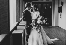 Winter Sandalford Winery Swan Valley Wedding  by Amy Skinner Photography
