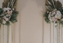 Alika & Nando Engagement Decoration by Nona Manis Creative Planner