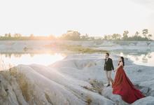 Prewedding Rendy & Melinda by Megan Anastasia Makeup Artist