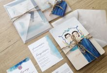 Andree & Audrey by Gracia The Invitation