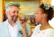 An Afro American wedding in Greece by MarrymeinGreece
