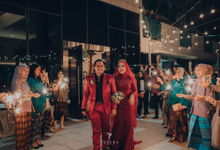 Ines & Hilman Rustic Glam Wedding by andrachman