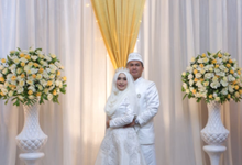Lina & Asep Elegance Wedding by andrachman