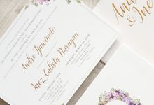 Andre & Inez by Meltiq Invitation