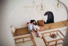 Intimate Villa Couple Session in Bali by fire, wood & earth