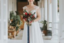 Bespoke wedding dress - Lace & Chiffon by Kelly's Bridals