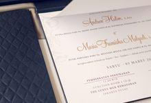 Andrew & Siska by Meltiq Invitation
