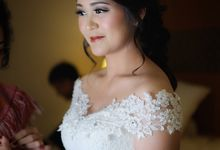 The Wedding of Angela and Leo by Hannyta Zhong Make Up Artist
