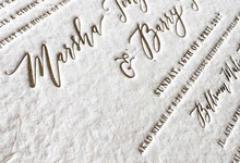 Modern Calligraphy invitation by angel calligraphy