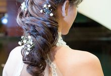 Floral & Garden Wedding Photoshoot by Angel Chua Lay Keng Makeup and Hair