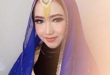 Wedding Hijab by Angel MUA