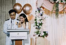 An enjoyable, personalised and meaningful wedding where we sealed our vows with a pinky promise. by Angela Lim