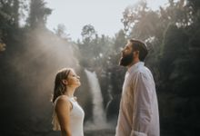 Angelic Waterfall Session of Landy & Greg by fire, wood & earth