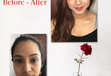 Before - After by AngelinLu MUA